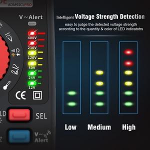 Image 4 - ADM92CL プロ 6000 カウント TRMS プロデュアルモードデジタルマルチメータテスターミニ電圧電流抵抗周波数計