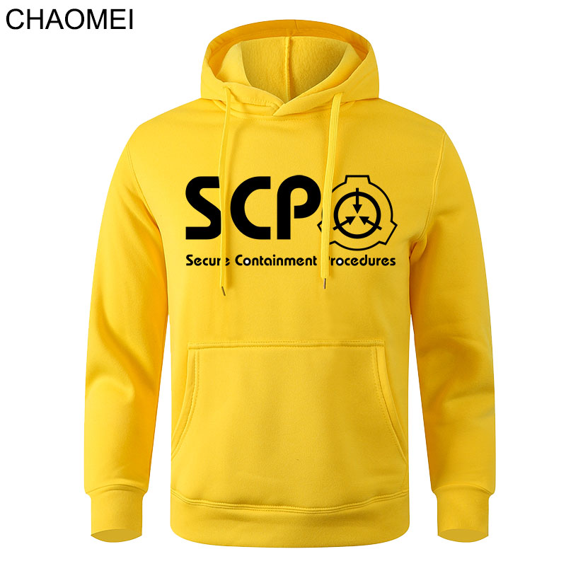2020 New Unisex Anime SCP Hoodies Coat Special Containment Procedures Hoodie SCP Casual Hooded Pullover Sweatshirts C160