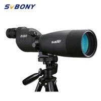 Svbony SV17 Spotting Scope 25-75x70mm Zoom Waterdichte Straight 180 De Voor Doel Jacht Boogschieten Telescoop Zwart + Statief F9326A