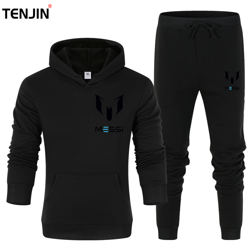 Brand Men's Tracksuits Men Running Suits Basketball Soccer Training T Shirts + Pants  sportswear Men's Fitness Sportswear Sets