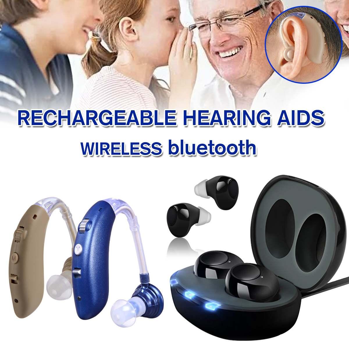 Nouveaux outils de soin d'oreille d'amplificateur sonore de prothèse auditive réglable Rechargeable pour les personnes âgées/Patient de perte d'audition