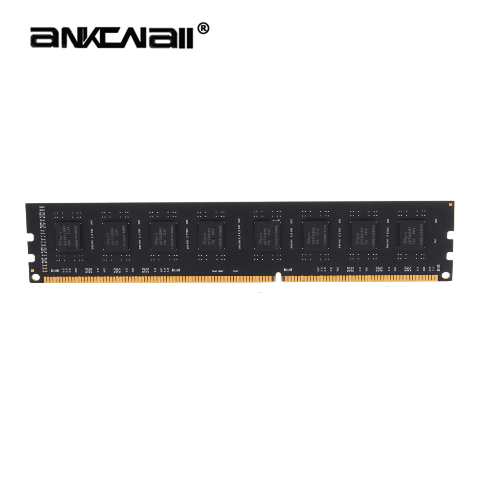 ANKOWALL DDR3 Desktop RAM with 2GB/4GB Capacity and 1866MHz/1600Mhz Memory Speed 8
