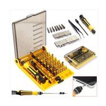46 в 1 телекоммуникационный инструмент для ремонта часов компактный разборный комбинированный многофункциональный бытовой Набор Отверток
