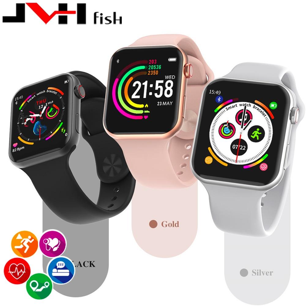 F10 Bluetooth call smartwatch PK W34 ECG Heart Rate Monitor smart watches men women for apple iphone xiaomi pk IWO8 IWO 9