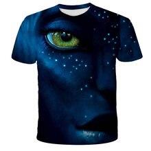 Avatar New The Film 3D Print T-Shirt Kids Fashion Casual Cartoon Anime T-shirt Unisex Harajuku Boy Girl Streetwear Cool T-Shirt