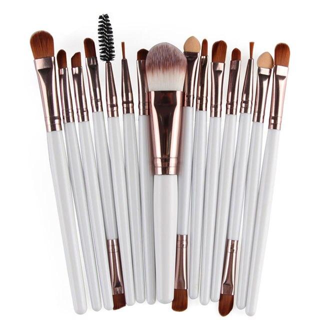 MAANGE Pro 6/7/15Pcs Makeup Brushes Set Eye Shadow Foundation Powder Eyeliner Eyelash Lip Make Up Brush Cosmetic Beauty Tool Kit 5