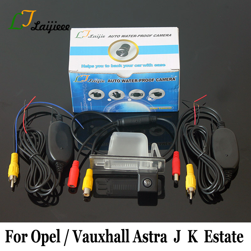 Parking Camera For Opel Vauxhall Astra Sports Tourer J K Holen Astra BK Wagon / HD CCD Night Vision Car Wireless Rearview Camera
