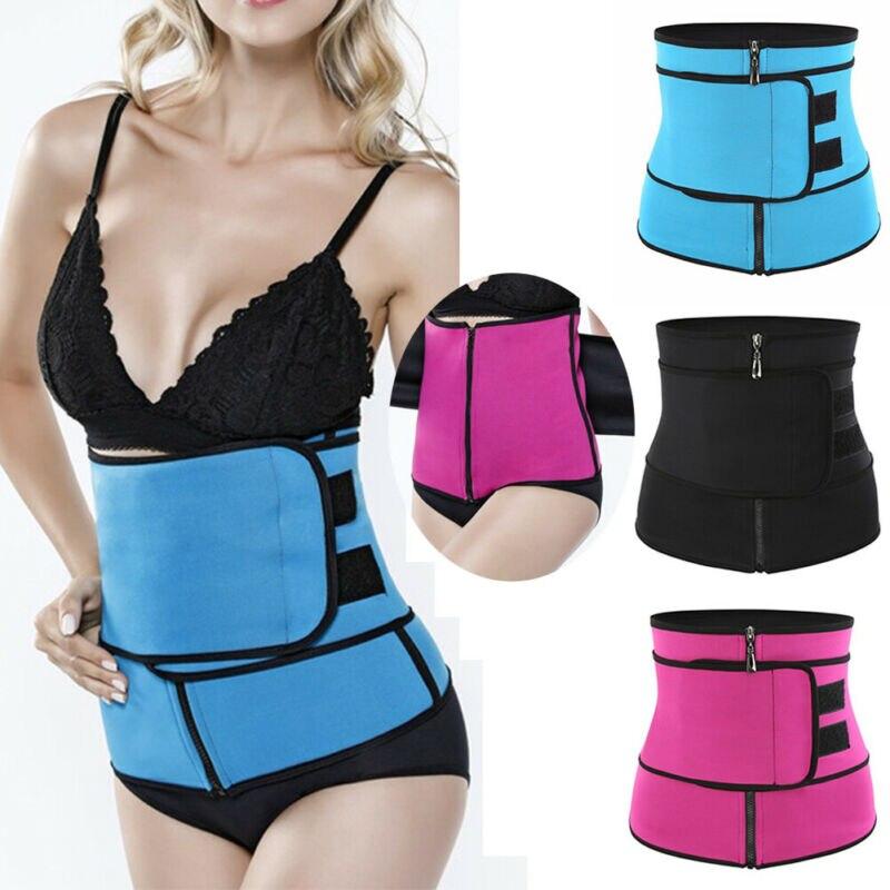 Hirigin S-3XL Women Slimming Belt Control Waist Trainer Cincher Corset Body Shaper Belt Modeling Strap Waist Trimmer Girdle Belt