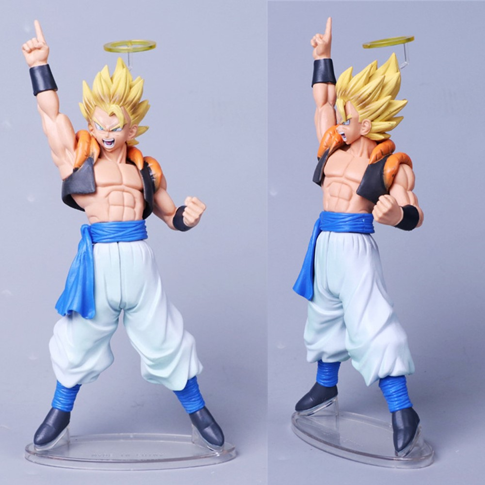 Anime Gogeta Dragon Ball Z Action Figures Angel DBZ Vegeta Goku Super Saiyan Gogeta Toys PVC Esferas Del Figma Model Xmas Gift