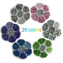 Diamantes de imitación de tamaño mixto/SS6-SS30, cristal de Strass, DMC, para decoración de ropa, 5000 Uds.