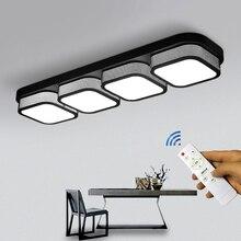 Đèn LED Phòng Khách Nhà Bếp Đèn Âm Trần Điều Khiển Từ Xa Mờ Phòng Tắm Plafon Phòng Ngủ Ăn Đèn Pin Chiếu Sáng Hiện Đại Trang Trí