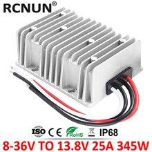 8 36 в до 13,8 В 15A 20A 25A Автоматический понижающий преобразователь постоянного тока 12 В до 13,8 вольт регулятор напряжения для автомобилей на солнечных батареях CE RoHS