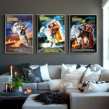 Back To The Future Classic Movie Canvas Painting Posters And Prints Pictures On The Wall Abstract Decorative Home Decor Plakat