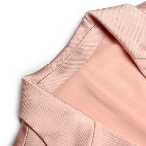 Женский Дизайнерский Костюм-двойка RoosaRosee, красная куртка без рукавов с отложным воротником + юбка с эластичной резинкой на талии, 2019