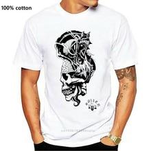 Sullen portapillole cavaliere cavallo castello teschio tatuaggio artista maglietta bianca S-3xl regno unito