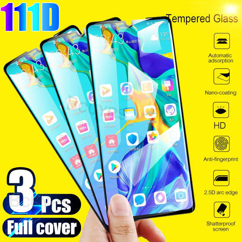 3Pcs Tempered Glass For Huawei P30 P20 Lite P20 Pro P Smart 2019 18 Protective Glass For Huawei Mate 10 20 Lite Screen Protector