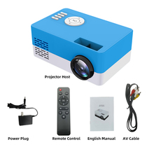New S261/J16 home mini micro projector led small projector HD 1080p factory direct sales