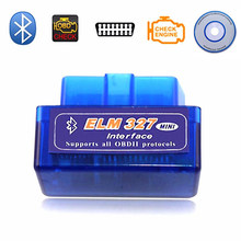 Auto Car detector 327 V 2.1 ELM327 Bluetooth OBD2 2.1 Android Car Scanner Automotive OBD 2 Auto Diagnostic Tool OBDII Protocol(China)
