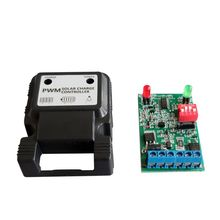 цена на 12V 3A Auto Solar Panel Charge Controller Battery Charger Regulator PWM