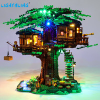 Lightaling Led Light Kit For Ideas Series Tree House Toys Building Blocks Compatible With 21318 ( Lighting Set Only )