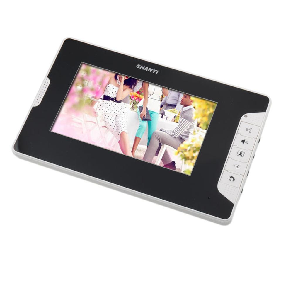 Image 5 - 7 inch Video Door Phone Doorbell Intercom System IP55 level waterproof camera-in Video Intercom from Security & Protection