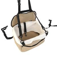 TPFOCUS Pet Cushion Thicken Waterproof Double Layer Pet Cushion Vehicle mounted Hanging Bag canvas Buckle design Easy to clean