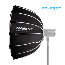 Caja blanda Nanguang SB FZ60 de 60cm para Nanguang Forza, 60 paraguas ligero para fotografía, caja suave, montaje redondo