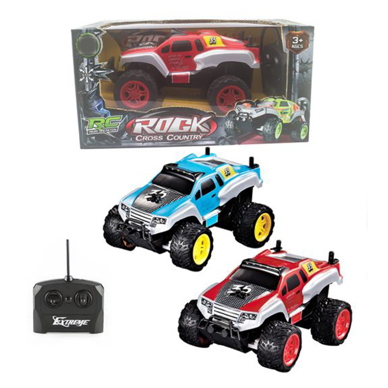 Four-Way Remote Control Mountain Buggy Children Electric Wireless Remote-control Automobile Model Four-Wheel Drive Toy Car