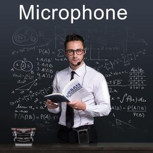 Image 5 - RETEKESS PR16R Megaphone Portable 12W FM Recording Voice Amplifier Teacher Microphone Speaker With Mp3 Player FM Radio Recorder