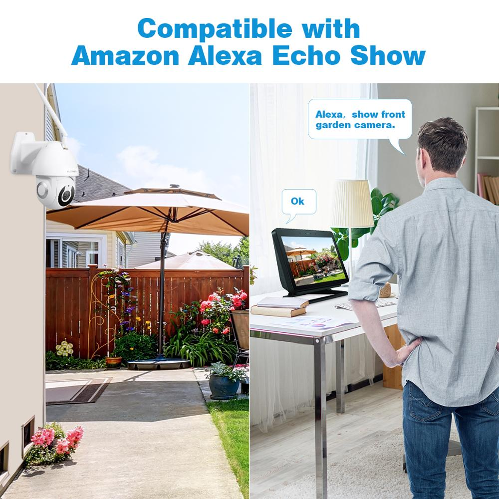 Image 5 - Floureon 2019 New 1080P HD IP Camera Wireless WiFi Outdoor Camera Smart Motion Tracking App Alarm Camera Compatible With Alexa-in Surveillance Cameras from Security & Protection