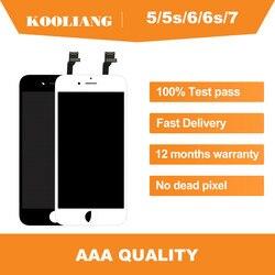 Rosyjski magazyn AAA oryginalny dla iPhone 4s/5S/6/6plus/6s/6splus/7/8 wyświetlacz LCD ekran dotykowy z zamiennik digitizera