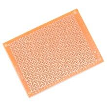 10 шт. 5*7 PCB 5x7 PCB 5 см 7 см DIY Прототип бумага PCB универсальная плата желтый