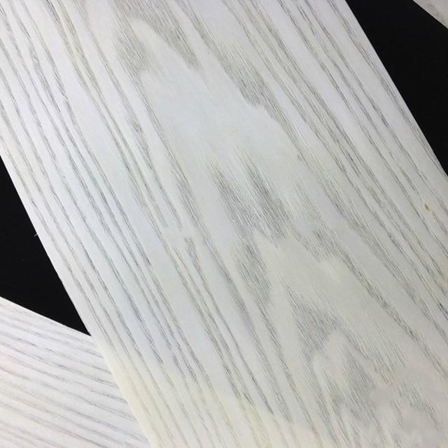 Natural Genuine White Ash Wood Veneer Furniture about 16cm x 220   260cm