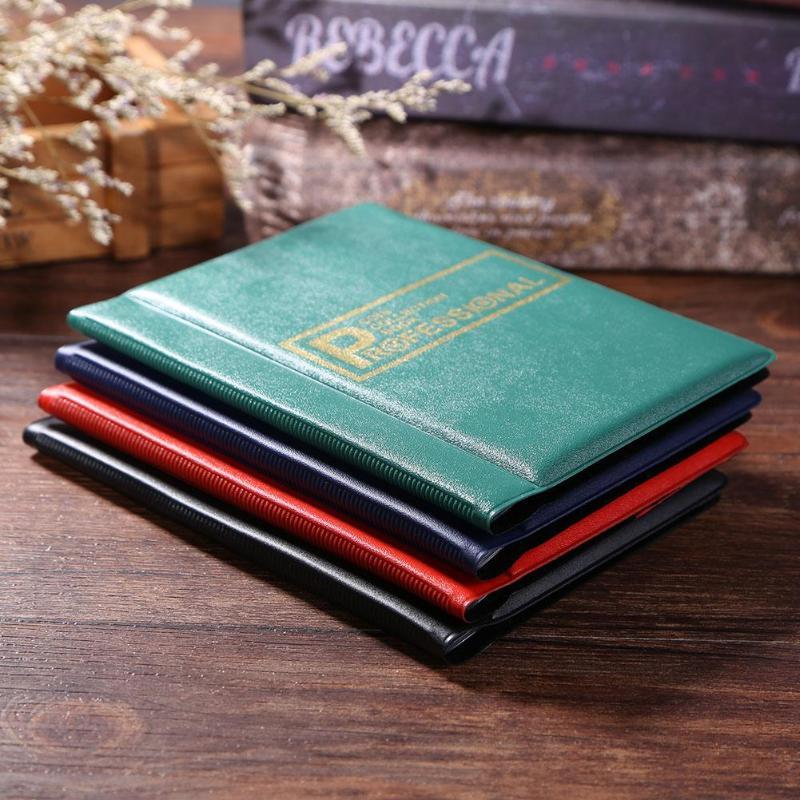 120 карманы для монет фотоальбом 10 страниц русский DIY держатель альбома коллекция книг карманы для хранения коллекция книг держатель для мон...