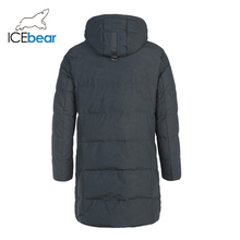 ICEbear 2019 New Winter Men #8217 s Down Jacket Fashion Winter Jackets Male Outerwear Brand Clothing YT8117150 cheap REGULAR Casual zipper Full Pockets Zippers Thick (Winter) Broadcloth Polyester White duck down NONE 150g-200g Solid