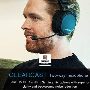 Image 3 - SteelSeries سماعة ألعاب لاسلكية Arctis Pro ، بلوتوث ، دقة عالية ، PS4 والكمبيوتر الشخصي