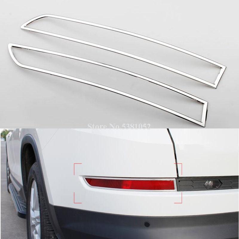 FOR Chevrolet Equinox 2018 2019 ABS Chrome Front Fog Light Lamp Cover Trim 2X