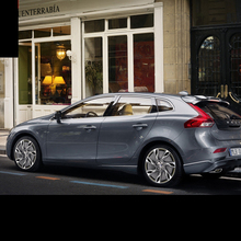 Lsrtw2017 304 нержавеющая сталь окна автомобиля планки для volvo v40 2013 2013 2011