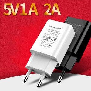 Зарядное устройство USB Quick Charge 5V 1A/5V 2A для IPhone Samsung Huawei Xiaomi USB Phone Charger EU Plug Phone Charger Power Adapter