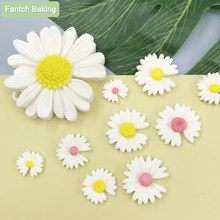 Doinb 3D Daisy Flower Shape Silicone Mold Pastry Cupcake Chocolate Soap Bakeware Mould Fondant Cake Sugarcraft Decoration Tools
