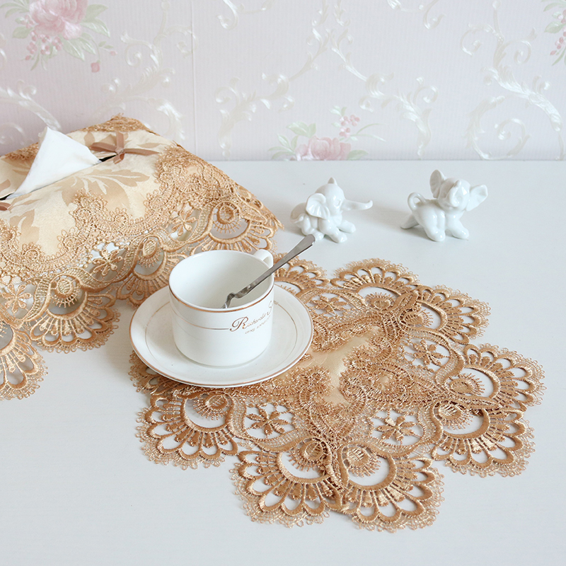 Big Discount 48d6 Round 30cm European Cotton Water Soluble Lace