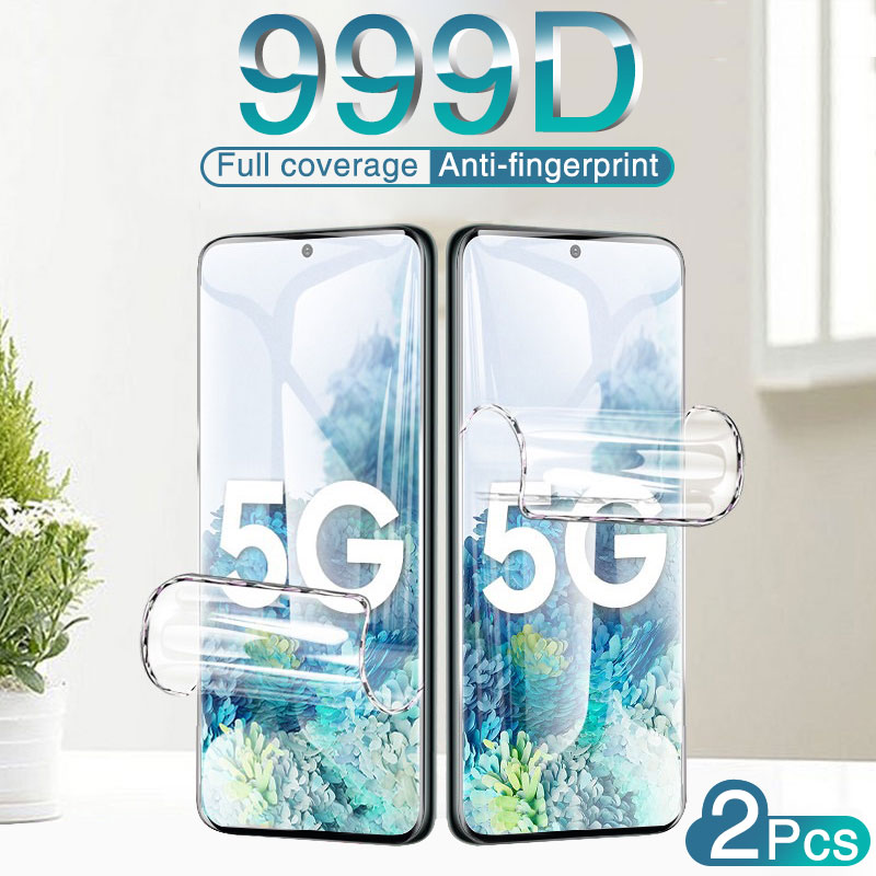 Full Cover Hydrogel Film For Samsung Galaxy S8 S9 S10 lite S20 Plus Screen Protector For Note 8 9 10 Plus A71 A50 Film Not Glass Phone Screen Protectors  - AliExpress