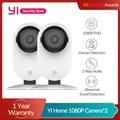 YI 1080P Крытый Камера IP камера, Wi-Fi, AI домашнего видеонаблюдения Системы 2-полосная аудио Ночное видение глобальная версия облако/SD для хранени...