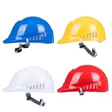 Hafif Anti çarpışma emniyet kaskı HDPE Malzeme Sert Şapka Oto tamircisi için, Fabrika işçisi, Koruyucu Işçilik kaskları