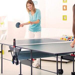 Image 2 - Masa tenis ağı geri çekilebilir taşınabilir Ping Pong Post Net raf herhangi bir masa öğrenci spor ekipmanı masa tenisi aksesuarları