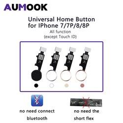 3rd Thế Hệ Đa Năng Nút Home Cho iPhone 7 7 Plus 8 8 Plus Cáp Mềm Phục Hồi Thông Thường Nhà Nút Quay Trở Lại chức Năng
