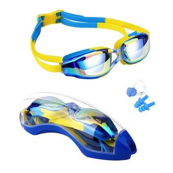 kids swimming anti-fog uv protection prescription goggles waterproof glasses goggle