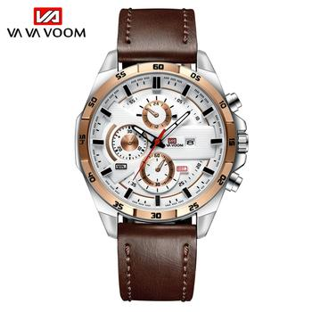 2021 New Arrival Moderno Watches Mens Sport Reloj Hombre Casual Relogio Masculino Para Military Army Leather Wrist Watch For Men - 216P-B-FK