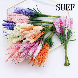 Handmade Decorative Simulation-Bouquet Bouquet-Material Smoked-Primrose Hyacinth Flowers--6