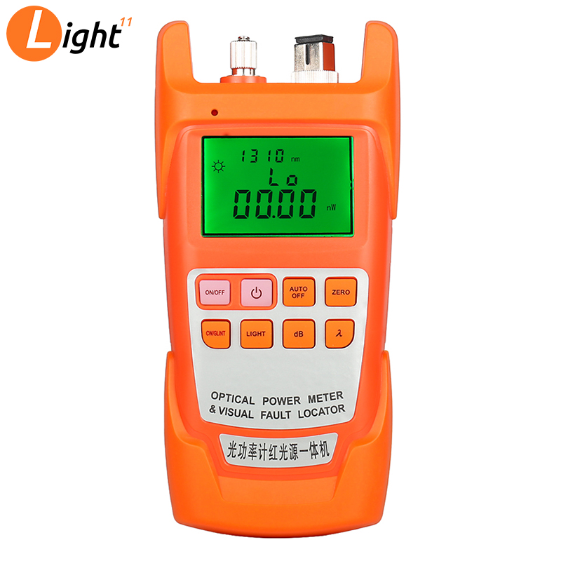 AUA-9A Optical Power Meter Red Light Source One Machine Light Failure Fault Detector Light Pen 1MW/10MW/20MW/30MW